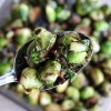 Pan-Fried Brussels Sprouts with Pancetta