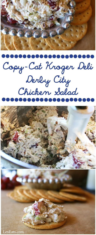 Copy-Cat Kroger Chicken Salad on www.lexeats.com
