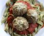 Baked Chicken Parmesan Meatballs